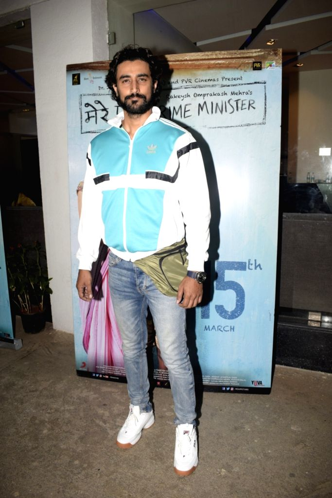 "Actor Kunal Kapoor at the screening of an upcoming film ""Mere Pyare Prime Minister"" in Mumbai, on March 14, 2019. - Kunal Kapoor"
