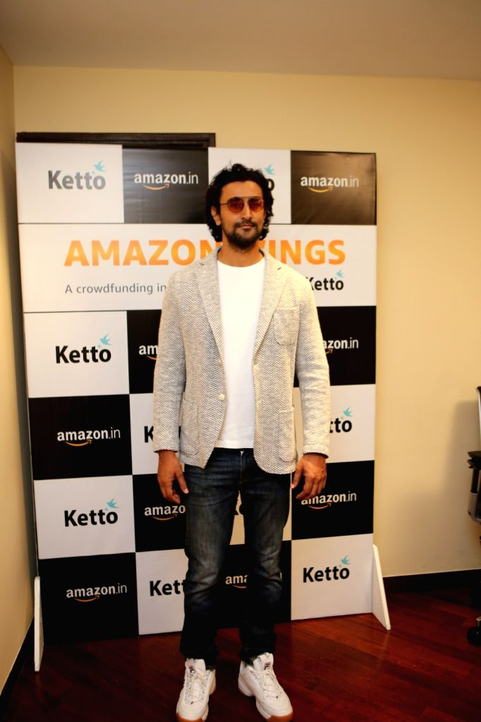 Actor Kunal Kapoor during a programme where Amazon India announced its partnership with Ketto, in Mumbai on April 5, 2019. - Kunal Kapoor