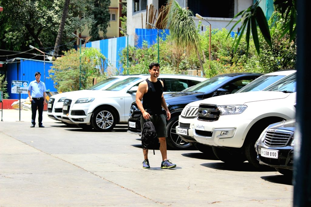 Actor Kunal Kemmu seen at a gym in Mumbai on April 4, 2018. - Kunal Kemmu