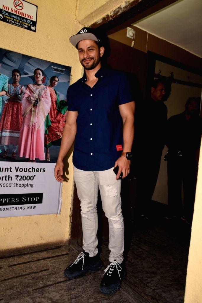"Actor Kunal Khemu at the screening of the upcoming film ""Kalank"", in Mumbai on April 14, 2019. - Kunal Khemu"