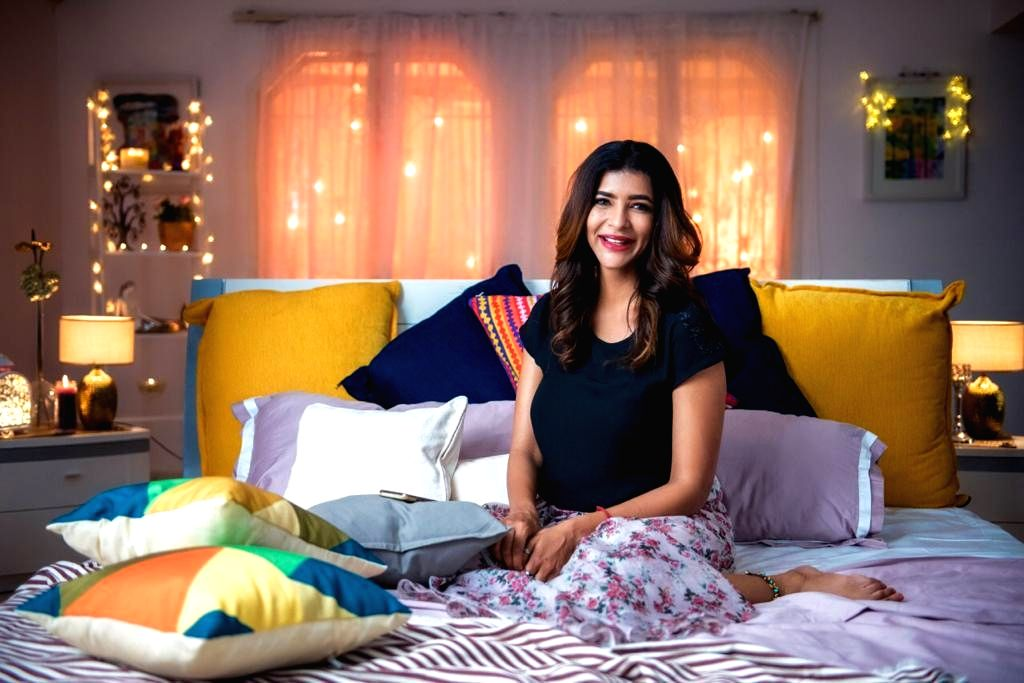 """Actor Lakshmi Manchu is excited to host the Telugu version of the chat show """"Feet Up With The Stars"""". She promises a fun ride. - Lakshmi Manchu"""