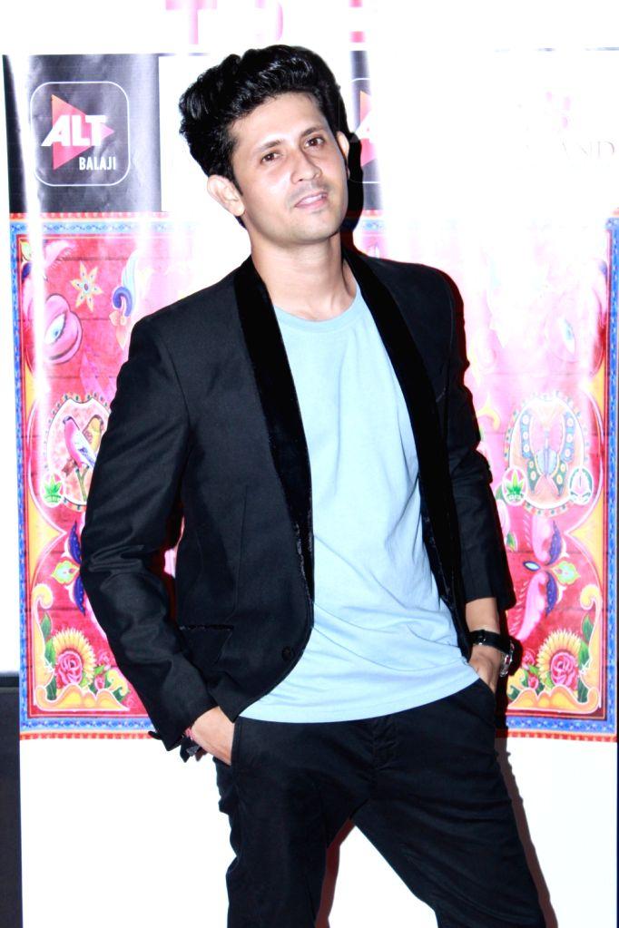 """Actor Lalit Bisht at the screening of web series """"Gandii Baat 3"""" in Mumbai on July 26, 2019. - Lalit Bisht"""