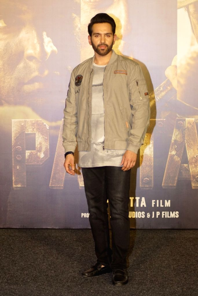 """Actor Luv Sinha at the trailer launch of upcoming film """"Paltan"""", in Mumbai on Aug 2, 2018. - Luv Sinha"""