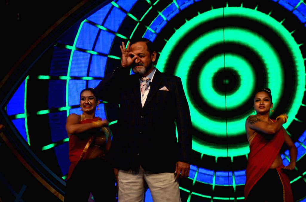 Actor Mahesh Manjrekar during the launch of Bigg Boss Marathi in Mumbai on April 6, 2018. - Mahesh Manjrekar