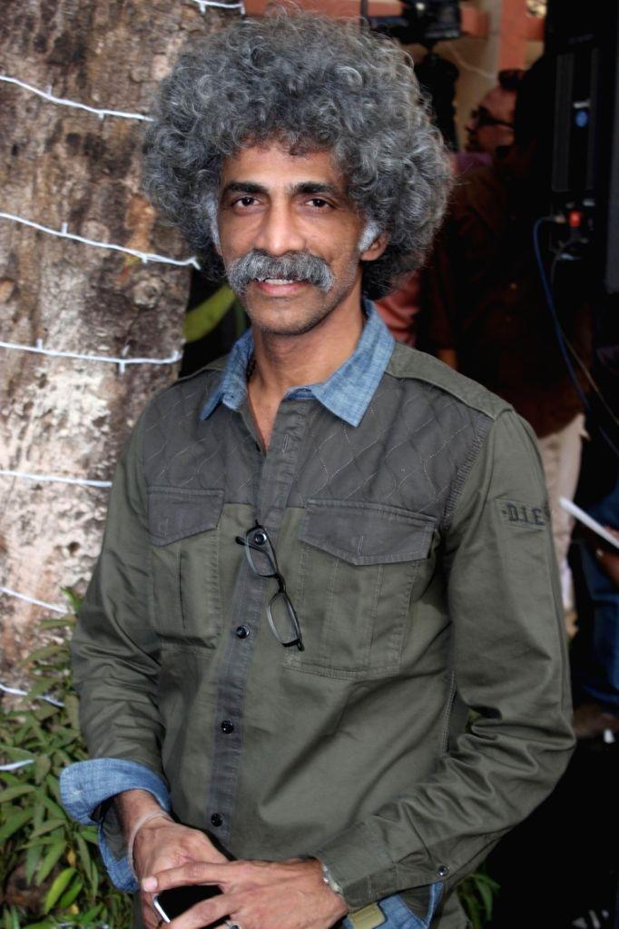 Actor Makarand Deshpande during the inauguration of `Khidkiyan` Theater Festival in Mumbai on Jan 14, 2016. - Makarand Deshpande
