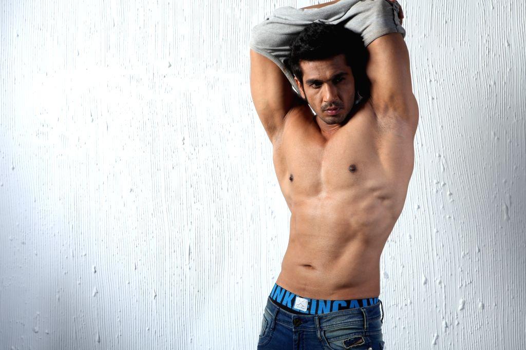 Actor Malhar Pandya. - Malhar Pandya