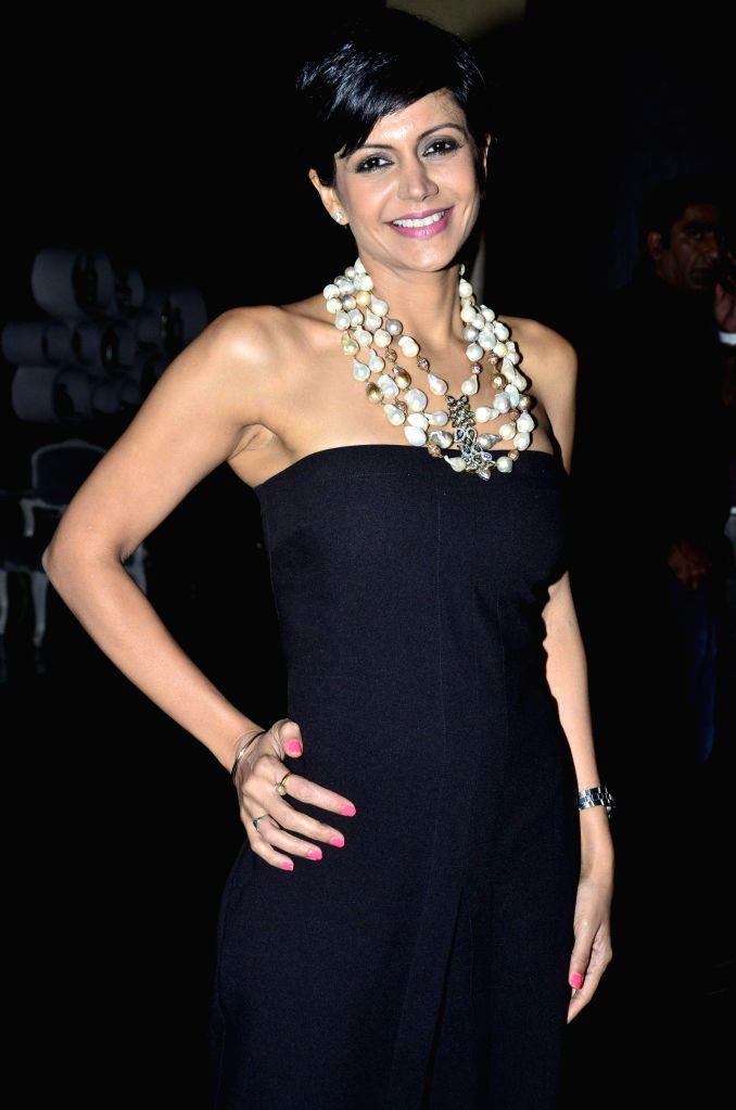 Actor Mandira Bedi during the launch of Zee Television serial Gangs of Hasseepur in Mumbai, on April 17, 2014. - Mandira Bedi