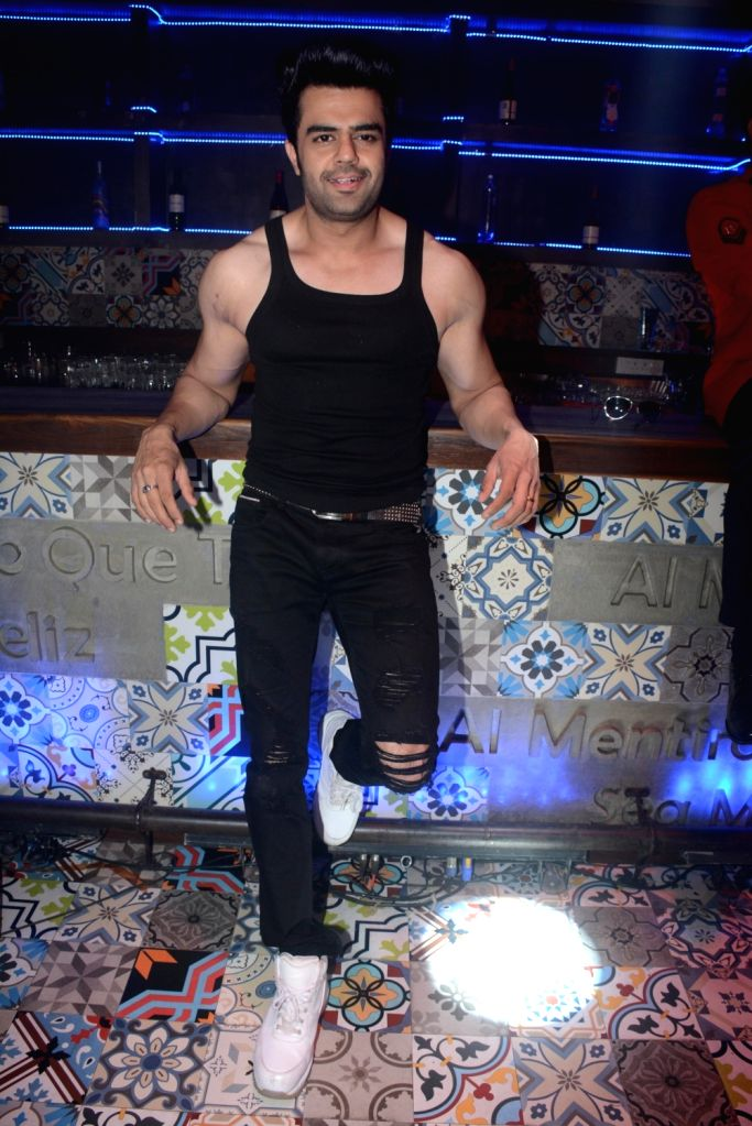 "Actor Maniesh Paul at the promotion of  his upcoming film ""Baa Baaa Black Sheep"" in Mumbai on Feb 13, 2018. - Maniesh Paul"