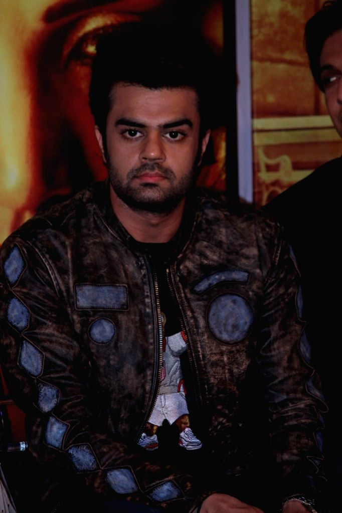 Actor Manish Paul during the music launch of marathi film Hrudayantar in Mumbai, on June 10 2017. - Manish Paul