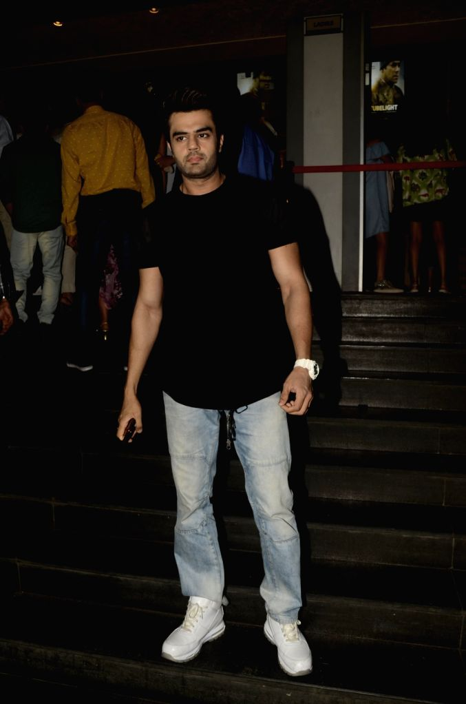 Actor Manish Paul during the screening of film Tubelight, in Mumbai, on June 22, 2017. - Manish Paul