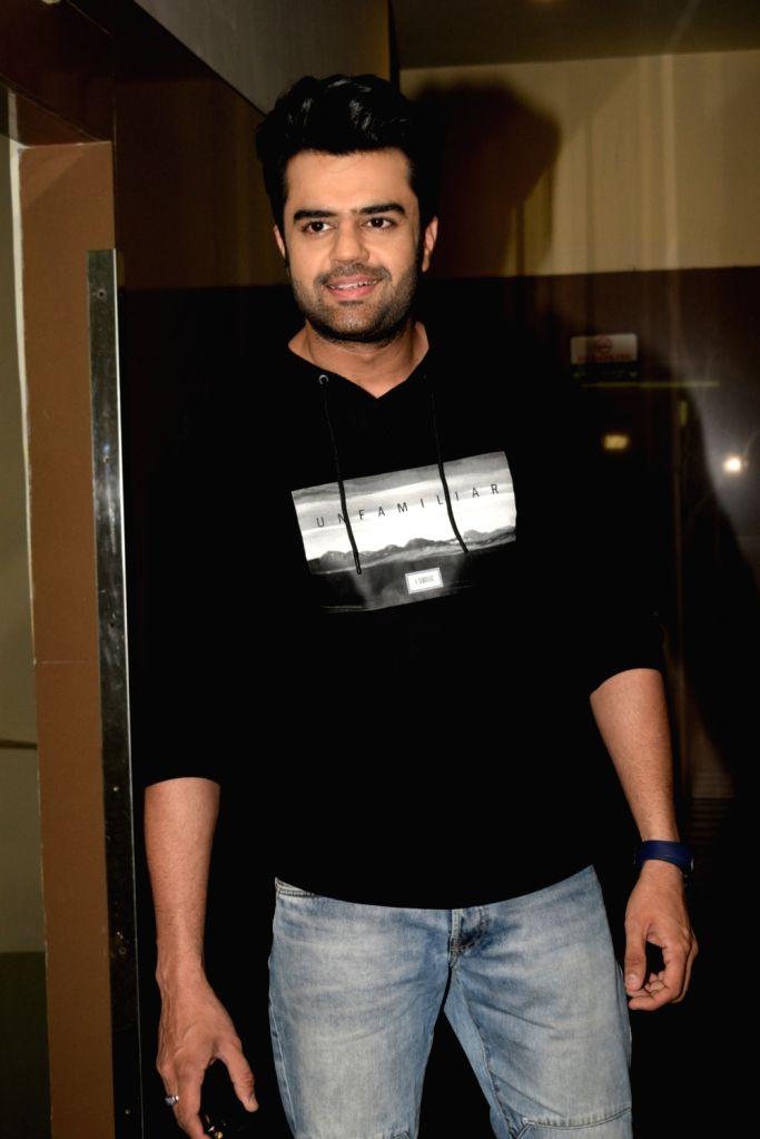Actor Manish Paul seen in Mumbai's Juhu, on April 9, 2019. - Manish Paul