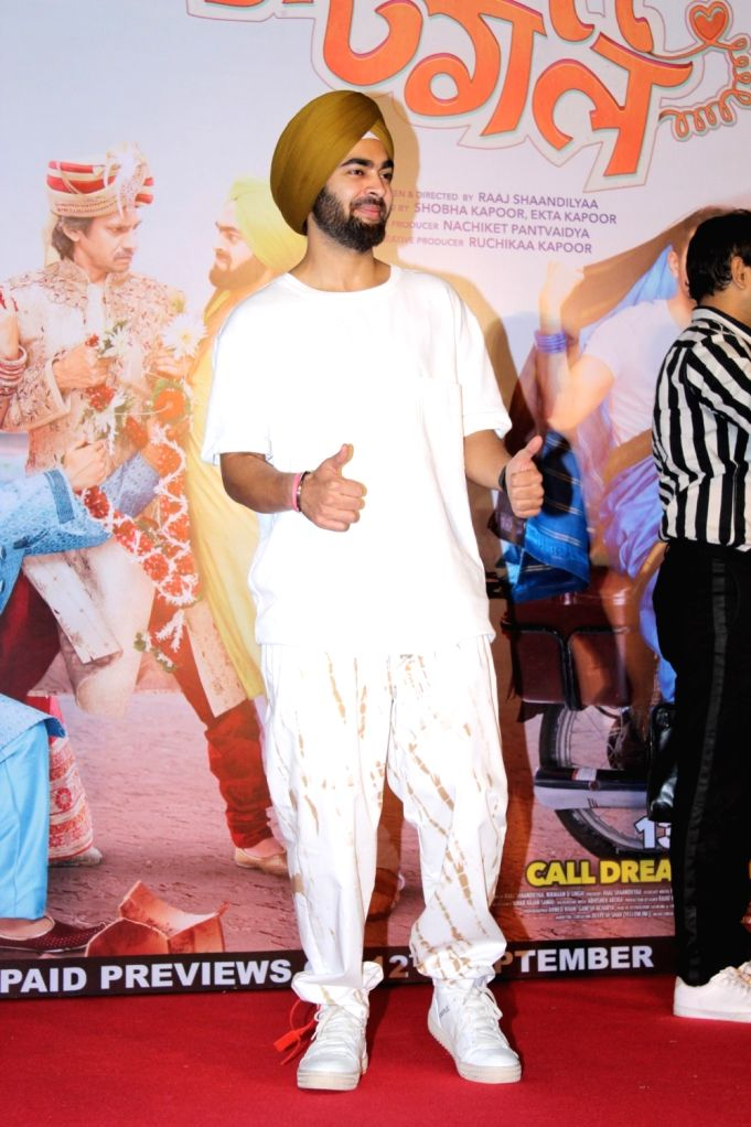 "Actor Manjot Singh at the trailer launch of film ""Dream Girl"" in Mumbai on Aug 12, 2019. - Manjot Singh"