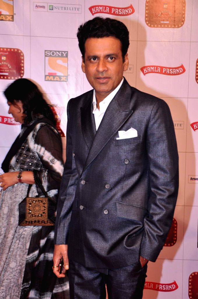 Actor Manoj Bajpayee at the red carpet of Stardust Awards at Jan 26 in Mumbai. - Manoj Bajpayee