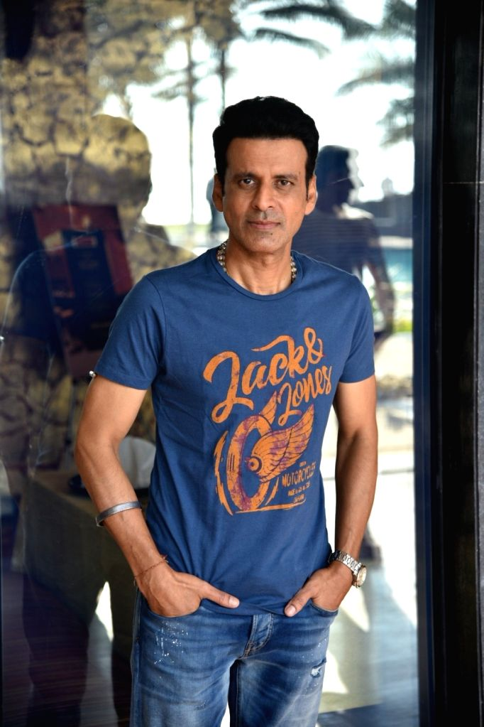 "Actor Manoj Bajpayee during a programme organsied to promote his upcoming film ""Sonchiriya"" in Mumbai on Feb 20, 2019. - Manoj Bajpayee"