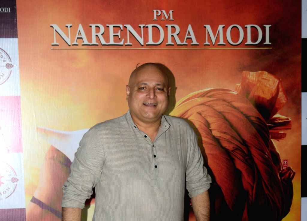 "Actor Manoj Joshi at the success party of his recently released film ""PM Narendra Modi"", in Mumbai, on June 13, 2019. - Manoj Joshi and Narendra Modi"