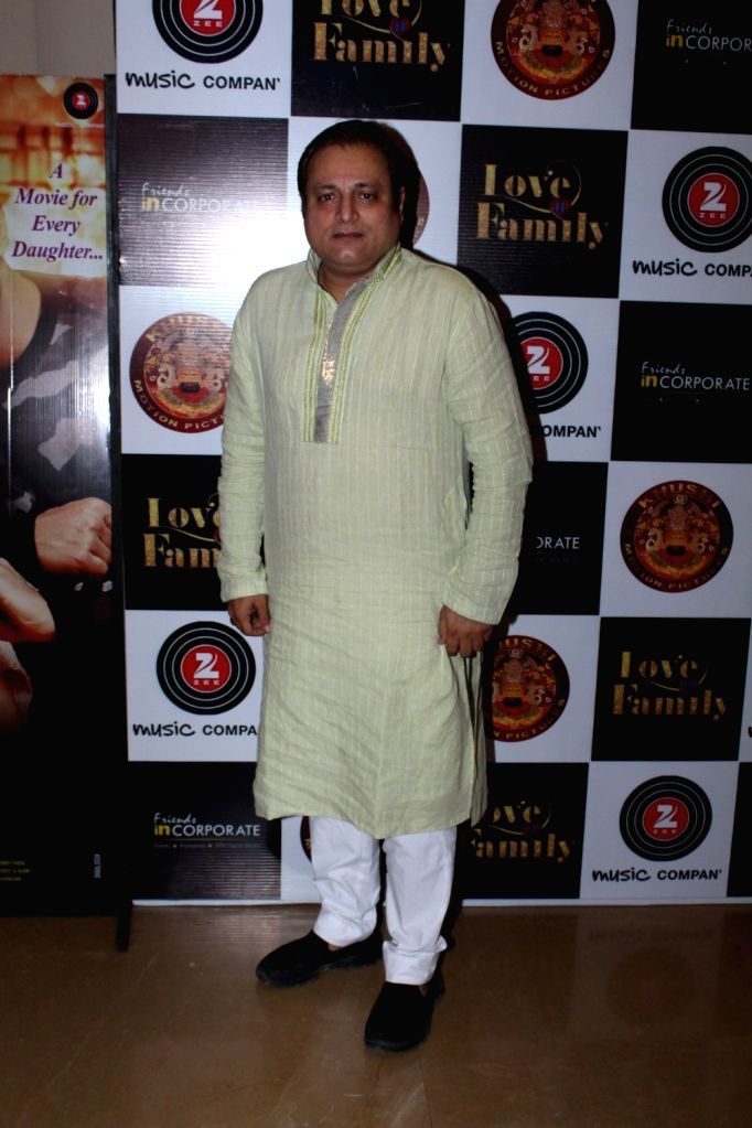 Actor Manoj Joshi during the music and trailer launch of film Love You Family in Mumbai on May 15, 2017. - Manoj Joshi