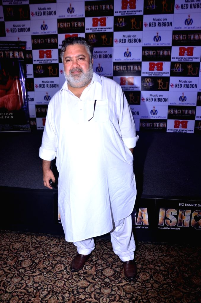 "Actor Manoj Pahwa during music launch of upcoming film ""Ishq Tera"" in Mumbai, on March 27, 2018. - Manoj Pahwa"