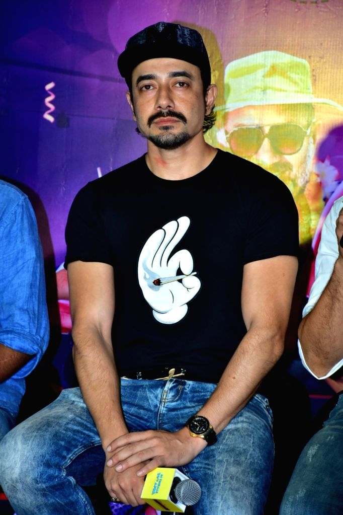 """Actor Mantra during the trailer launch of his upcoming film """"High Jack"""", in Mumbai on March 27, 2018. - Mantra"""