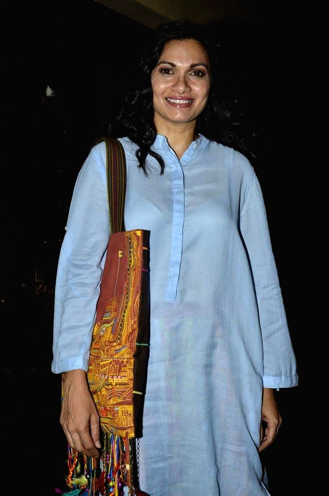 Actor Maria Goretti during the special screening of film Finding Fanny in Mumbai on Sept 7, 2014. - Maria Goretti