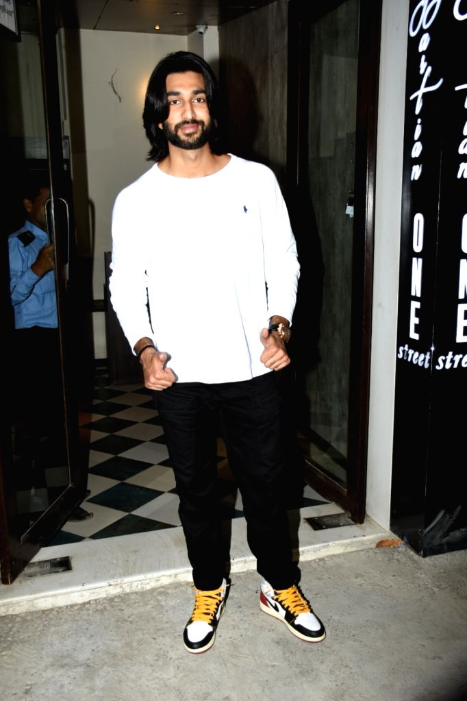 Actor Meezaan Jaffrey seen in Mumbai's Bandra, on May 30, 2019. - Meezaan Jaffrey
