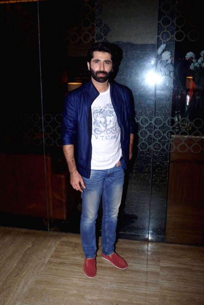 """Actor Mir Sarwar at the trailer launch of his upcoming film """"Laila Majnu"""" in Mumbai on Aug 7, 2018. - Mir Sarwar"""