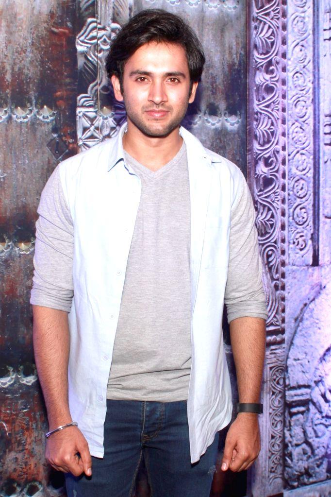 """Actor Mishkat Verma during the launch of his upcoming TV show """"Ichhapyaari Naagin"""" in New Delhi on Sept 23, 2016. - Mishkat Verma"""