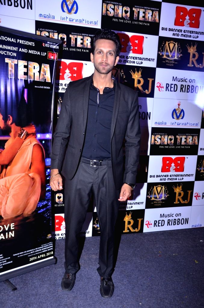 """Actor Mohit Madaan during music launch of upcoming film """"Ishq Tera"""" in Mumbai, on March 27, 2018. - Mohit Madaan"""