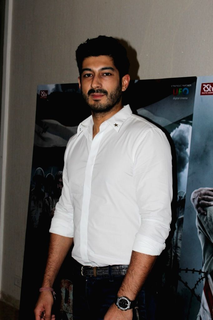 """Actor Mohit Marwah during a programme organised to launch trailer of forthcoming film """"Raag Desh"""" in Mumbai, on June 30, 2017. - Mohit Marwah"""