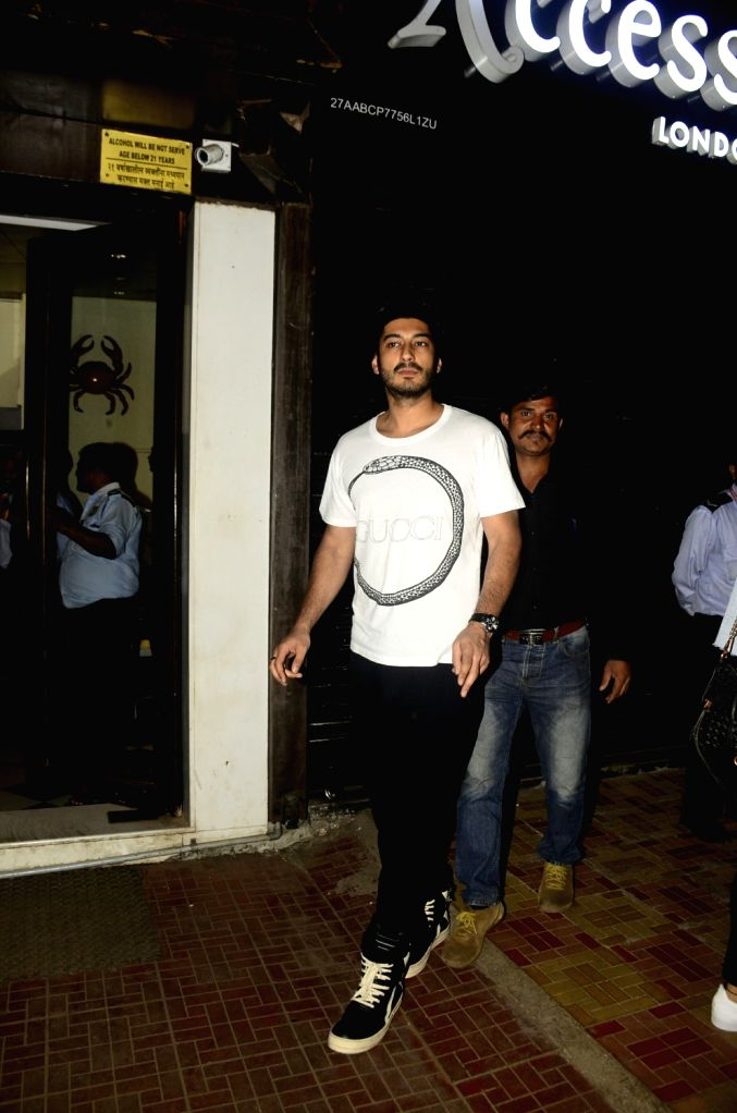 Actor Mohit Marwah during the actor Arjun Kapoor's sister Anshula Kapoor birthday party in Mumbai. - Mohit Marwah, Arjun Kapoor and Anshula Kapoor