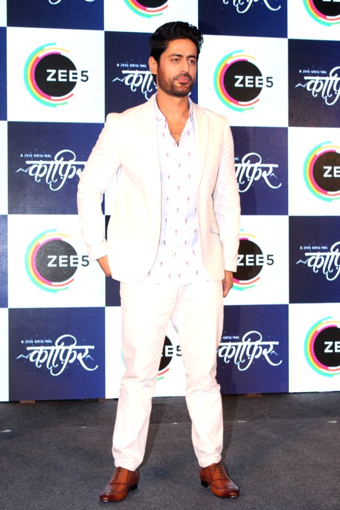 """Actor Mohit Raina at a press conference of his upcoming webshow """"Kaafir"""" by Zee5, in Mumbai on June 6, 2019. - Mohit Raina"""