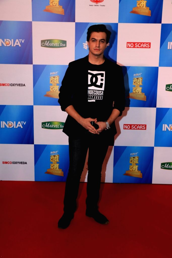 Actor Mohsin Khan at India Today Conclave in Mumbai, on Feb 2, 2019. - Mohsin Khan