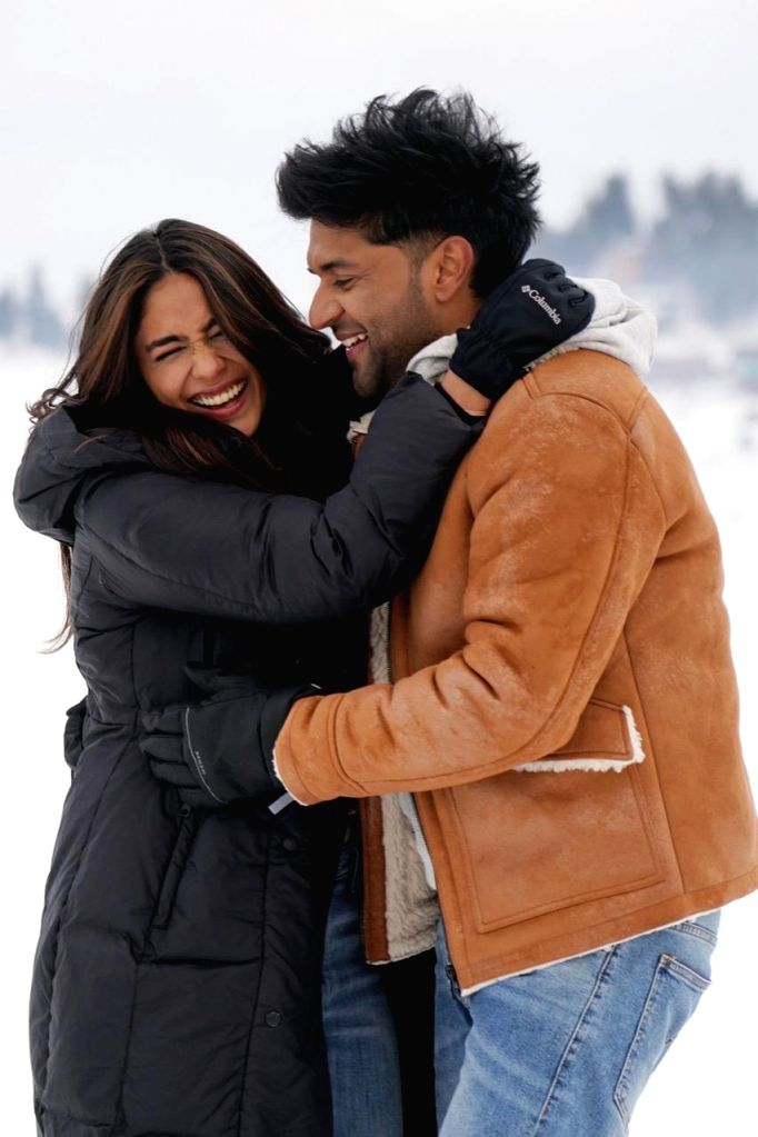 Actor Mrunal Thakur, who recently shot with singer Guru Randhawa for his latest music video in Kashmir, is smitten by the beauty of the place. - Mrunal Thakur