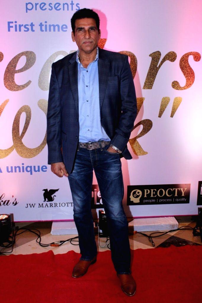 Actor Mukesh Rishi during the 17th Indian Television Academy (ITA) Awards 2017 in Mumbai, on Aug 14, 2017. - Mukesh Rishi