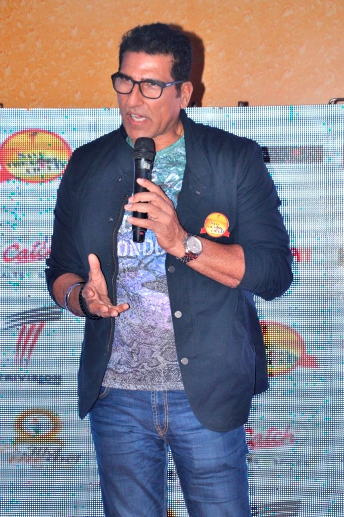 Actor Mukesh Rishi during the press conference of documentary song based on `Stop Female Foeticide` Save the Girl Child - Mukesh Rishi