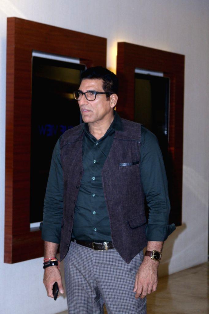 Actor Mukesh Rishi during the trailer and music launch of upcoming 3D Animation film Mahayoddha Rama in Mumbai on Sept. 16, 2016. - Mukesh Rishi