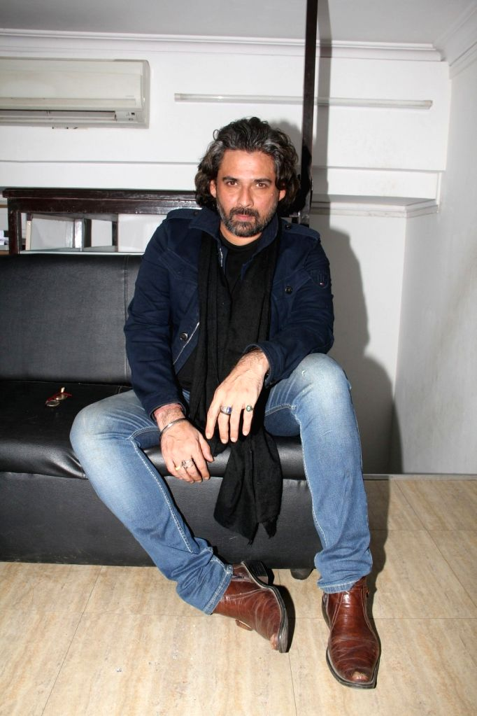 Actor Mukul Dev during a media interaction of film film Meeruthiya Gangster, in Mumbai, on Aug 17, 2015. - Mukul Dev