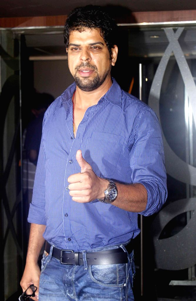 Actor Murli Sharma during a programme organised to launch the trailer of upcoming film `Desi Kattey` in Mumbai. - Murli Sharma