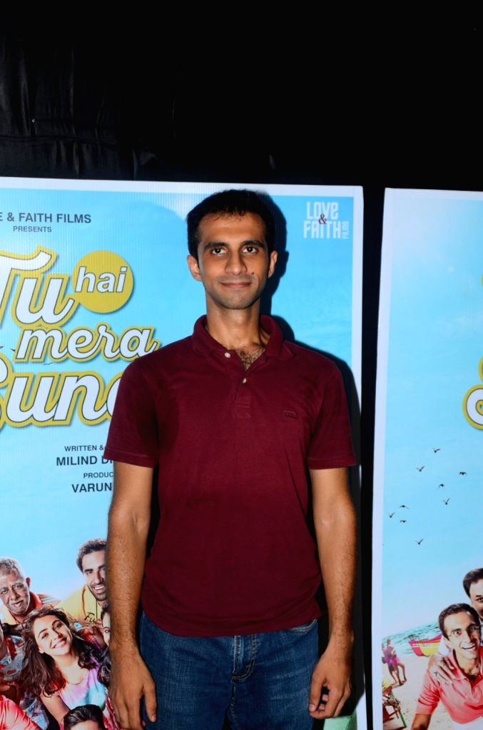 "Actor Nakul Bhalla during the promotions of his upcoming film ""Tu Hai Mera Sunday"" in Mumbai on Sept 17, 2017. - Nakul Bhalla"