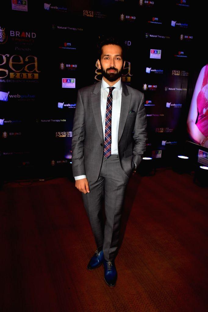"Actor Nakuul Mehta at ""Global Excellence Awards 2019"" in Mumbai on Oct 12, 2019. - Nakuul Mehta"