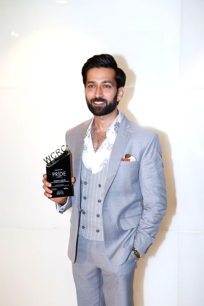 Actor Nakuul Mehta during the third edition of the WCRC Idea-fest 2018 awards in Mumbai on Aug 27, 2018. - Nakuul Mehta