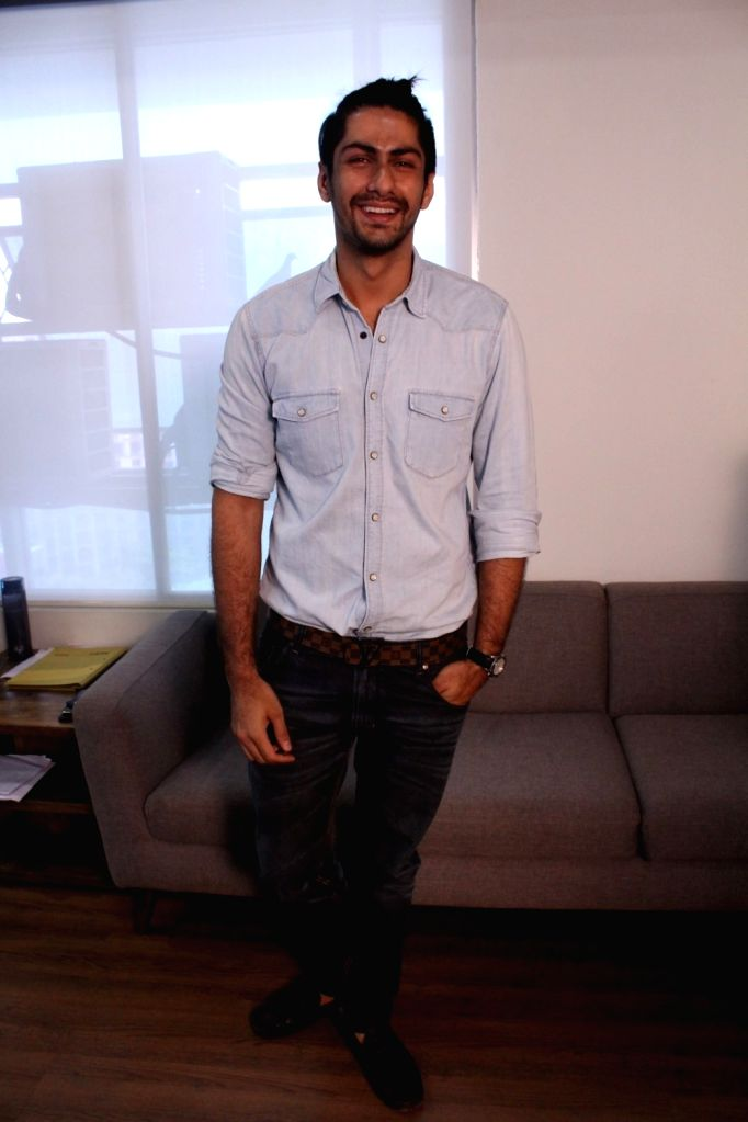 "Actor Namit Khanna during the promotional interview of web series ""Twisted"" in Mumbai on March 25, 2017. - Namit Khanna"