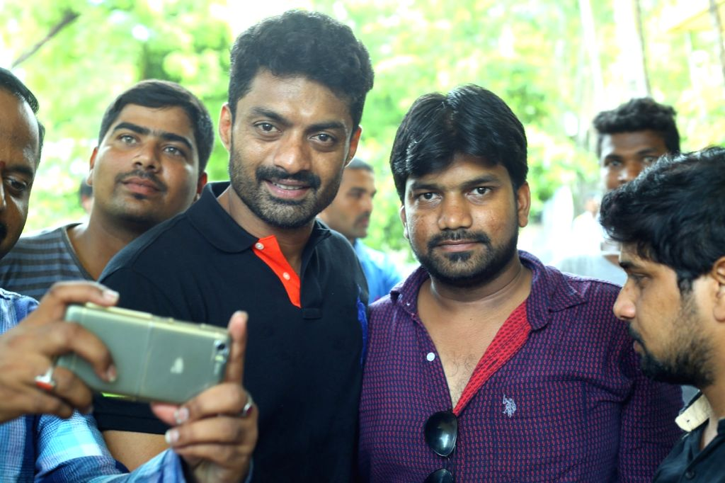 Actor Nandamuri Kalyan Ram during a programme on Hyderabad, July 05, 2017. - Nandamuri Kalyan Ram
