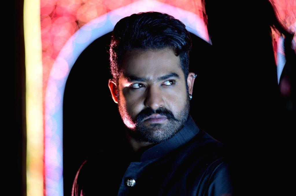 "Actor Nandamuri Taraka Rama Rao Jr stills from Telugu film ""Jai Lava Kusa"" in Hyderabad. - Nandamuri Taraka Rama Rao J"