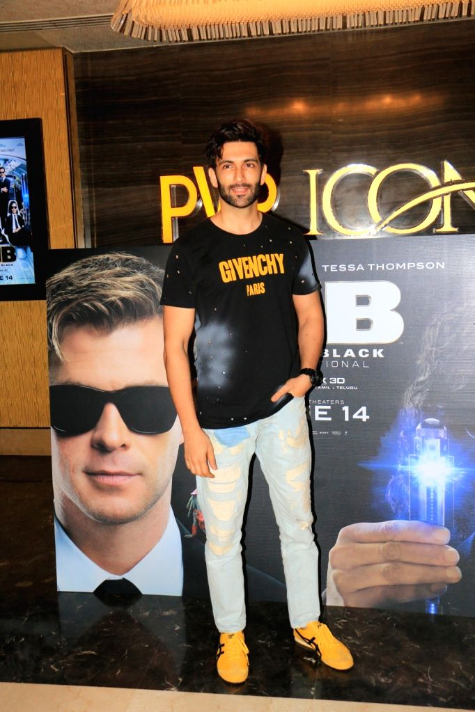 "Actor Nandish Sandhu at the screening of upcoming film ""Men in Black: International"", in Mumbai, on June 13, 2019. - Nandish Sandhu"