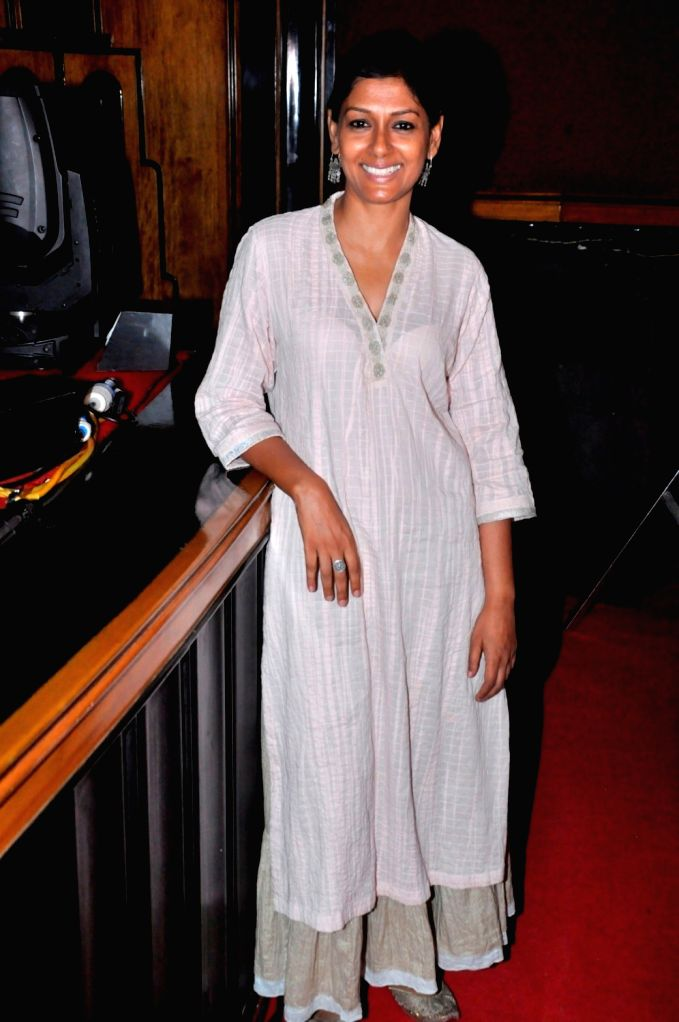Actor Nandita Das during Kashish 2016 panel discussion on Freedom of Expression and Censorship in Indian Cinema, in Mumbai on May 27, 2016. - Nandita Das