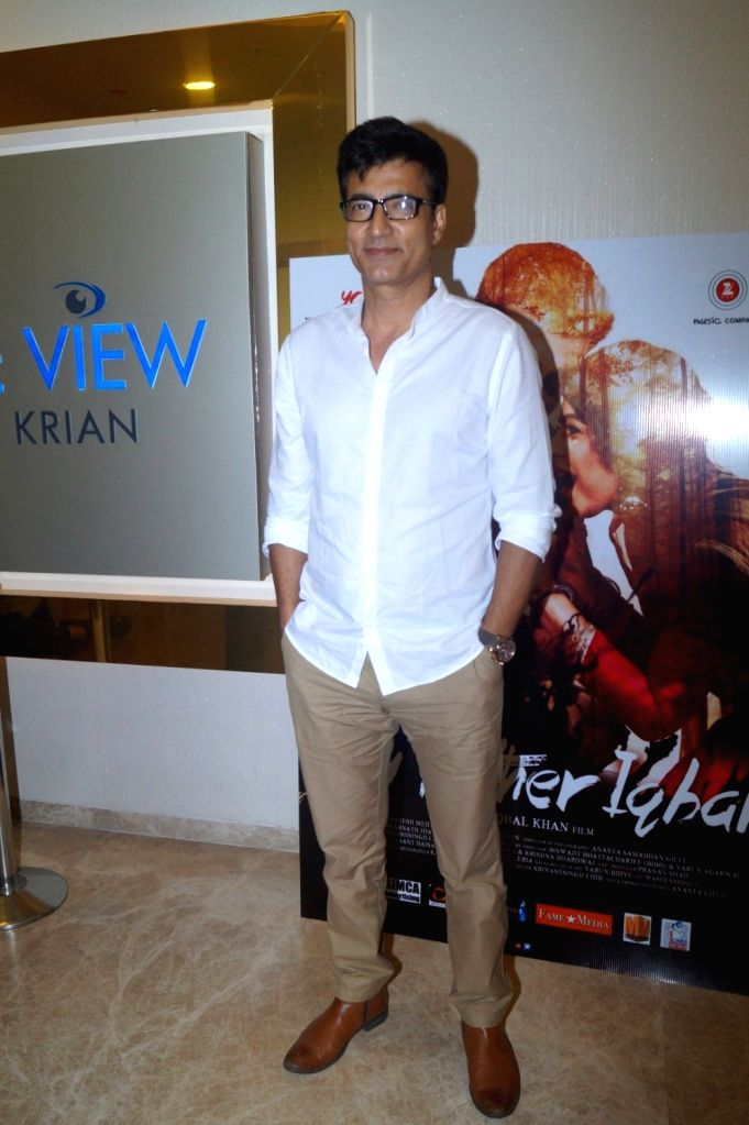 Actor Narendra Jha during the music launch of film My Father Iqbal in Mumbai, on August 6, 2016. - Narendra Jha