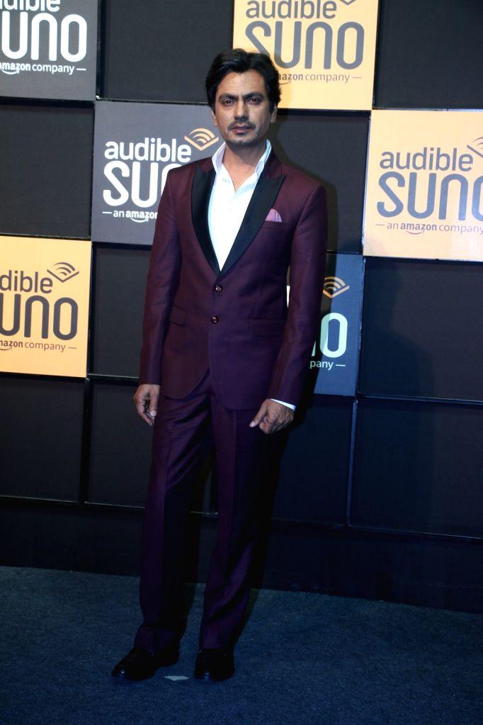 "Actor Nawazuddin Siddiqui at the launch of ""Audible Suno"" app in Mumbai on Dec 12, 2019. - Nawazuddin Siddiqui"