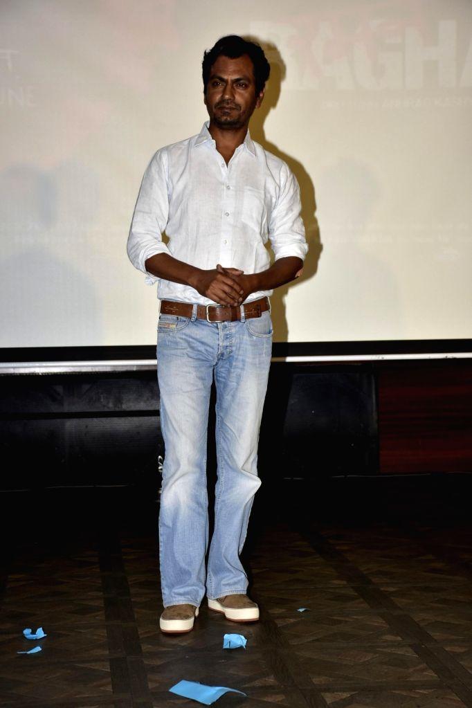 Actor Nawazuddin Siddiqui during launch of song, Qatl-e-Aam from film Raman Raghav 2.0, in Mumbai on June 03, 2016. - Nawazuddin Siddiqui