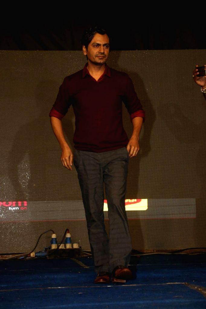 "Actor Nawazuddin Siddiqui during the promotion of film ""Babumoshai Bandookbaaz"" at Umang Festival in Mumbai on Aug 14, 2017. - Nawazuddin Siddiqui"