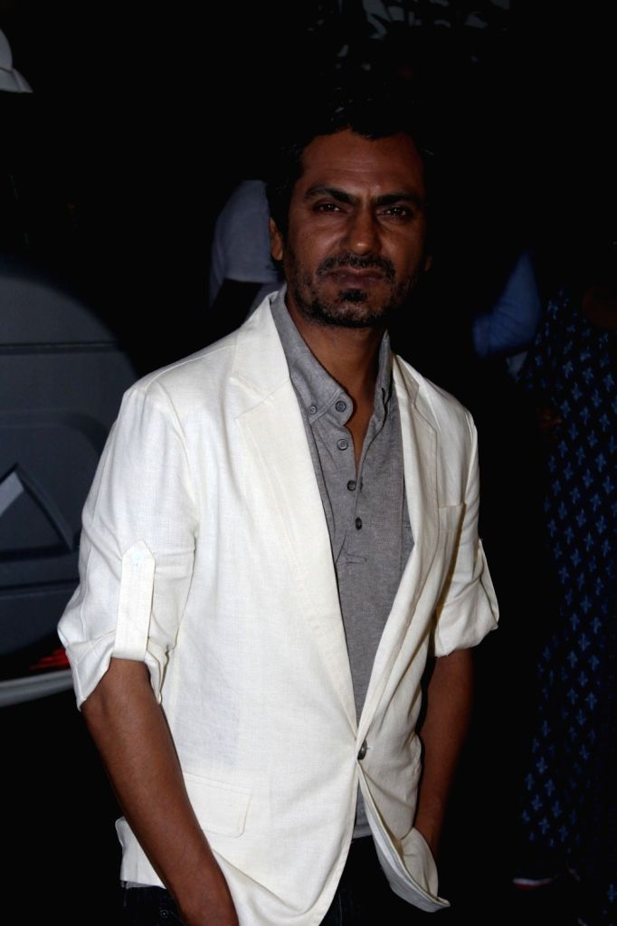 "Actor Nawazuddin Siddiqui during the special screening of his film ""Mom"" in Mumbai on July 4, 2017. - Nawazuddin Siddiqui"